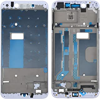 SHUHAN Mobile Phone Replacement Part For OPPO A77 / F3 Front Housing LCD Frame Bezel Plate(Black) Repair Spare part for OPPO (Color : White)