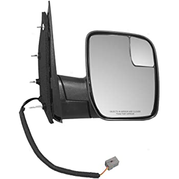 Amazon Com Oe Replacement Ford Econoline Van Passenger Side Mirror Outside Rear View Partslink Number Fo1321238 Automotive