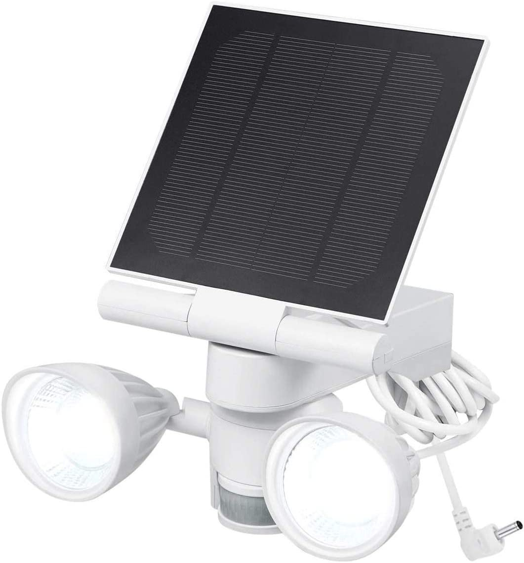 Wasserstein Ring Floodlight Solar Charger Panel Rapid rise Super Special SALE held Motion-Activa