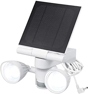 Wasserstein Ring Floodlight & Solar Panel Charger, Motion-Activated, Compatible with Ring Stick Up Cam & Ring Spotlight Ca...
