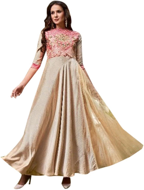 Bollywood Collection Anarkali Salwar Kameez Suit Ceremony Punjabi Muslin 641