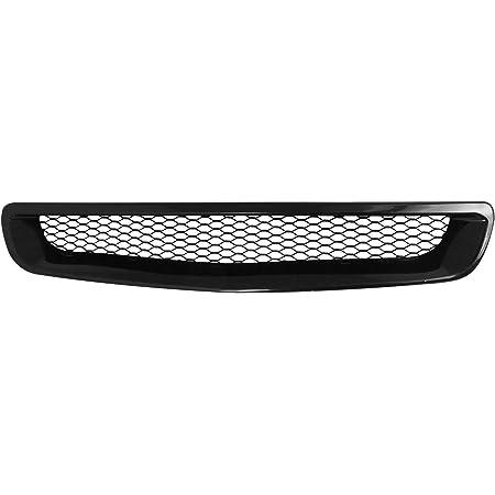 Black For Honda Civic ABS Plastic Type-R Mesh Style Front Grille 6th Gen EJ EK EM