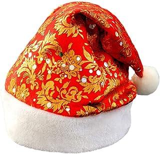 FELZ Sombreros de Navidad Unisexo para Bebé Adulto Santa Claus Gorro de Paño Adornos Navideños Regalo Cálido Año Nuevo
