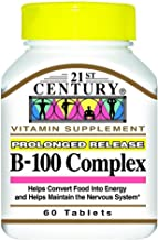 21st Century Vitamin B-100 Complex 60 Count (2 Pack)