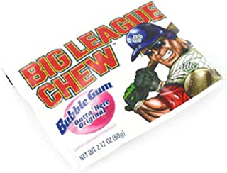 Big League Chew Outta Here Bubble Gum, Original, 12 Count (Pack of 12)