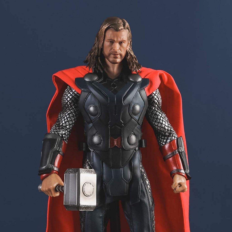 ordene ahora los precios más bajos Gflyme Estatua Movie Version Thor Thor Realista Realista Realista Modelo 28cm Escritorio Anime Estatua  sin mínimo