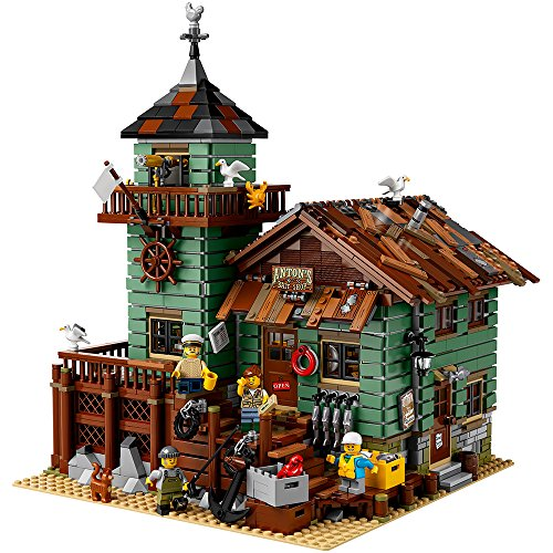 LEGO Ideas Old Fishing Store (21310) - Building Toy and Popular Gift for Fans of LEGO Sets and the Outdoors (2049 Pieces)