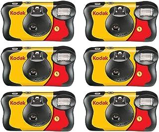 6 X كاميرا فانسيفر أحادية الاستخدام مع فلاش 800 ايزو