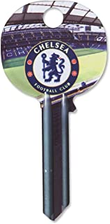 Chelsea FC Official Door Key SD Blank Key Blue Club Crest