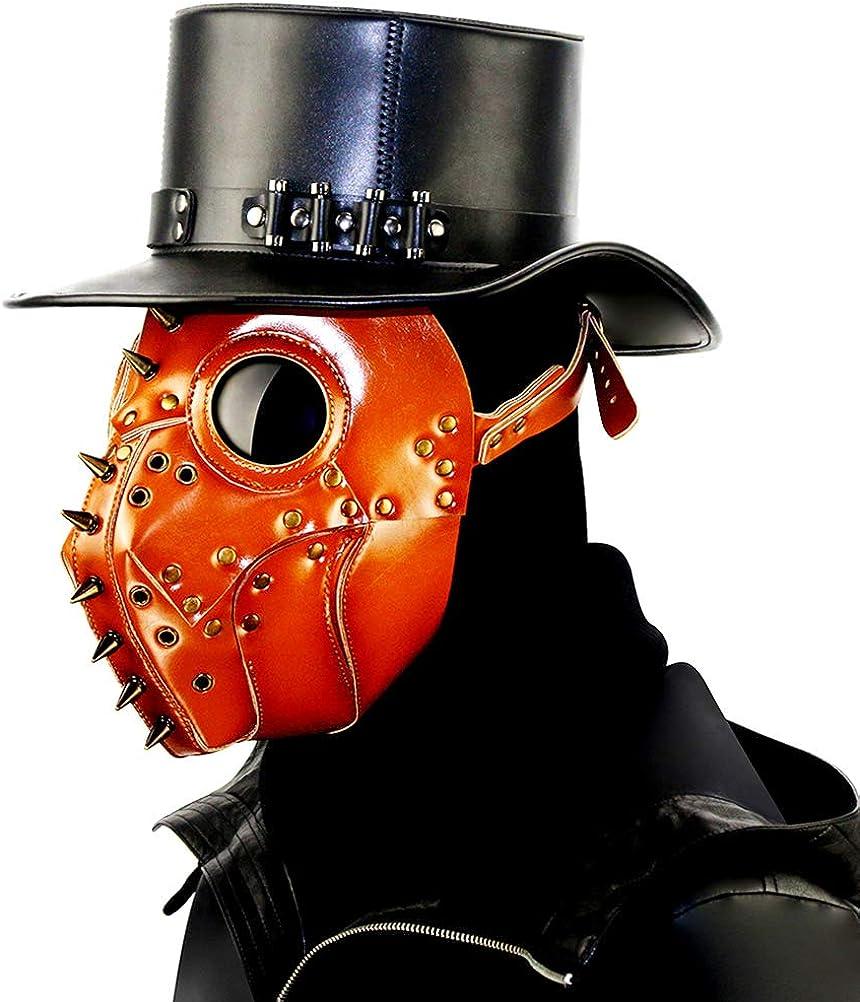 Trendy Plague Doctor Mask Ranking TOP8 Steampunk Popular popular Beak D Long Bird