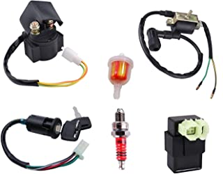 50cc Ignition Coil CDI Box Solenoid Relay Ignition Switch...