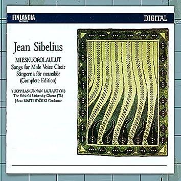 Jean Sibelius: Songs for Male Voice Choir - Mieskuorolaulut