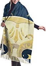 Shateeg Rapture Masquerade Ball 1959 3D Printed Casual Cashmere Cotton Scarf One Size