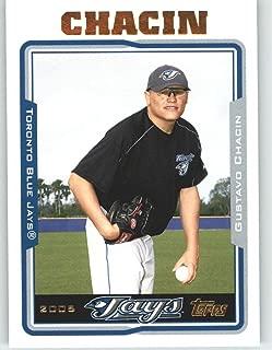 2005 Topps Update #16 Gustavo Chacin - Toronto Blue Jays (Baseball Cards)