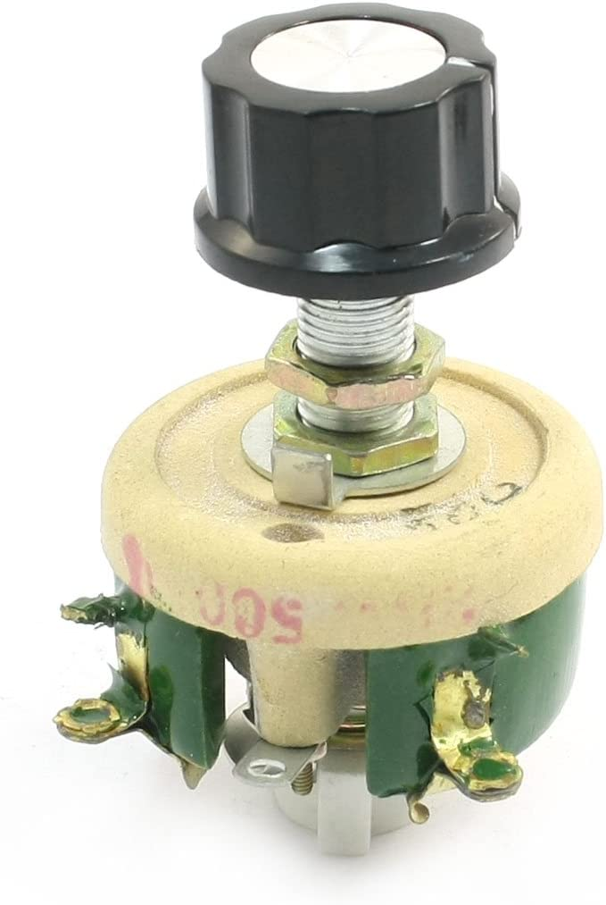 uxcell safety Wirewound Ceramic Potentiometer 55% OFF Variable Resisto Rheostat