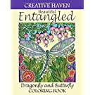 Creative Haven Entangled Dragonfly and Butterfly Coloring Book: Creative haven entangled Dragonfly and Butterfly coloring book Adult Coloring. ... haven entangled Butterflies coloring book