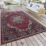 Paco Home In- & Outdoor Teppich Modern Vintage Look Terrassen Teppich Wetterfest Bunt, Grösse:80x150 cm