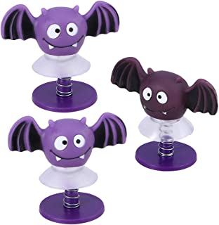 Lsmaa 3pcs Jumping Toy Popper Spring Launchers Bat Animal Joke Toy for Kids Playing Gifts Halloween Party Favors