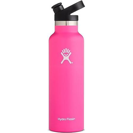 Hydro Flask 21 Oz Water Bottle Sport Cap Flamingo Sports Outdoors
