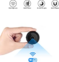$36 » Mini Spy Camera Wireless Hidden Home WiFi Security Nanny Cameras and Hidden Cameras with Cell Phone App HD 1080P Night Vision Motion Detective
