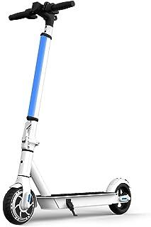 "Hiboy Patinete Eléctrico S2 Lite - Neumáticos sólidos de 6.5"" - hasta 16 KM de Largo Alcance y 21 KM/H Scooter portátil Pl..."