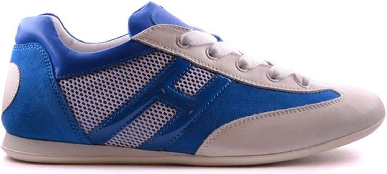 Hogan Women's MCBI21150 bluee Leather Sneakers