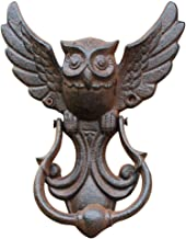 Uil deurklopper, huisdeuren gietijzeren deurkruk vintage uil antieke stijl decoratieve deur voor uw tuin / houten huis / b...