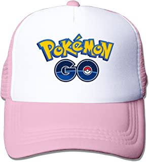 Pokemon Go Games Logo Unisex Snapback Peak Caps