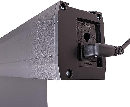 ganancia 1,0 tela blanca profesional de pantalla de cine // 3D // 4K // UHD // estructura de aluminio // sin efecto brillante o puntos // sin telas ni fibra de vidrio Pantalla de proyector motorizada HiViLux TXN
