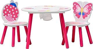 IB-Style - Meubles Enfants Papillon | 6 Combinaisons |Set: 1 Table et 2 chaises Enfant - Chambre Enfant Meuble Enfant Mobi...