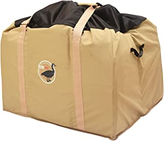 DecoyPro 6 Slot Goose Decoy Bag – Fits Full Body Goose Decoys with Bases Attached - Floating Goose Decoys - Shell Goose Decoys - Padded & Adjustable Shoulder Strap – Water & Dirt Drain System