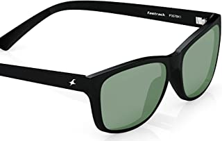253a82771074 Fastrack UV protected Square Men's Sunglasses (P357BK1|41 millimeters|Smoke  (Grey/