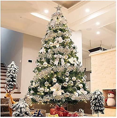 Decoraciones navideñas,árbol de Navidad con bisagras de Abeto de PVC Respetuoso con...