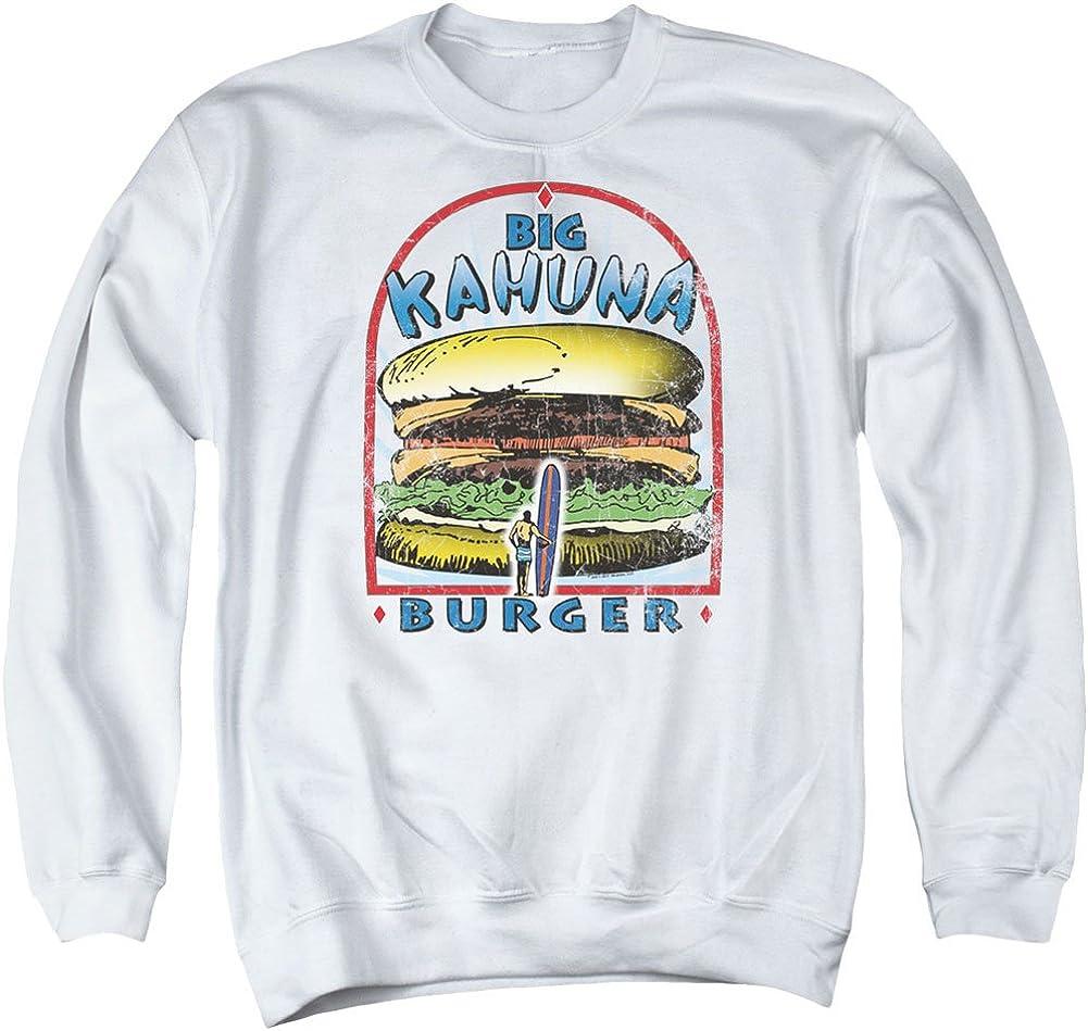 5 ☆ popular Trevco Pulp Fiction Men's Big White Burger Manufacturer direct delivery Kahuna Sweatshirt