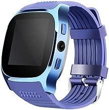 Huangou Smart Watch - Sport Smart Wrist Watch Smartwatch Fitness Tracker Camera Pedometer SIM TF Card Slot Compatible Android iPhone iOS Men Women Kid