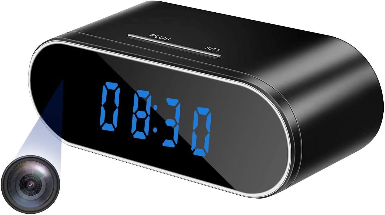 Hidden Camera Clock WiFi San Antonio Mall Wireless Spy Nann 1080P Popular standard