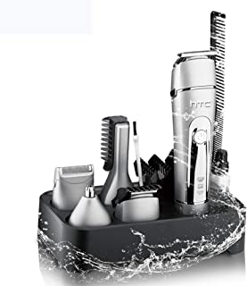 Kapseltrimmer Elektrische tondeuse Baardtrimmer 5 in 1 trimmer voor mannen Draadloze snortrimmer Neushaartrimmer Waterdicht
