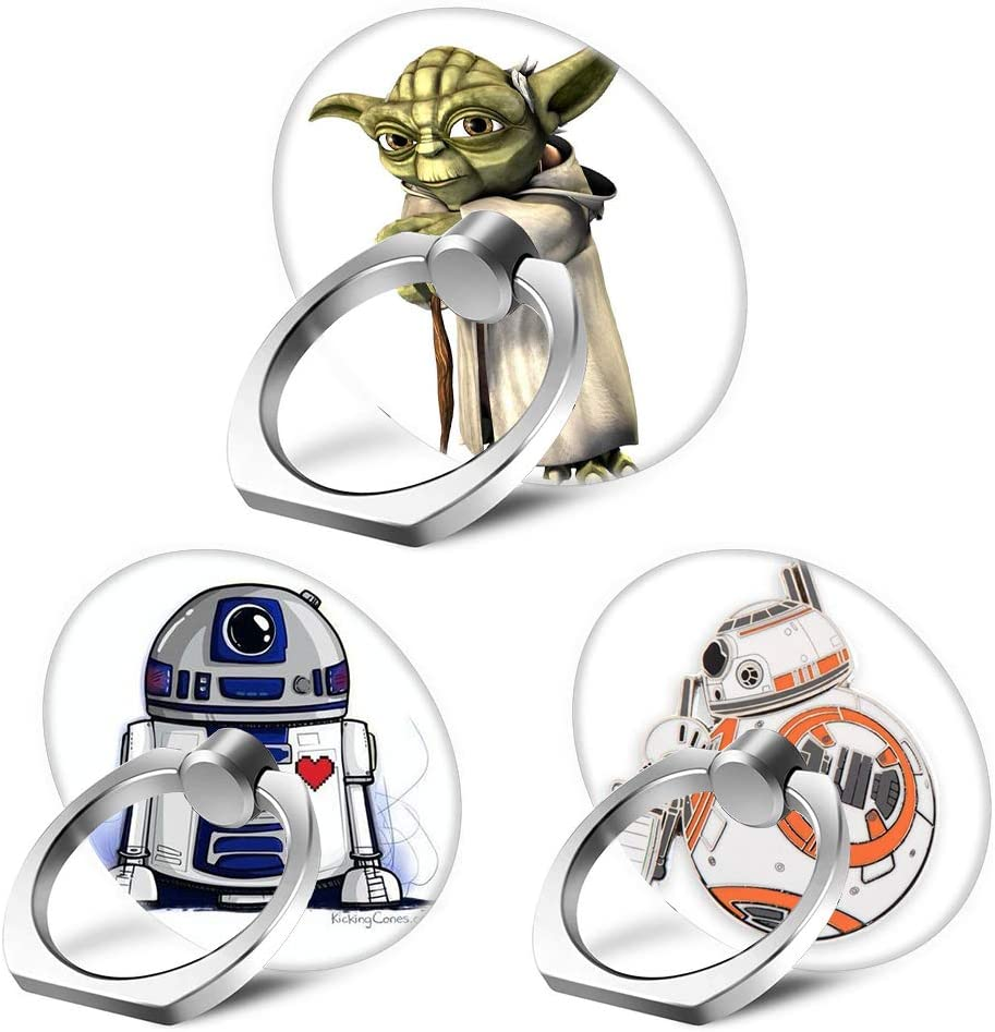 Popular popular 3-Pack Phone Ring Stand Captain 360 Degree Rapid rise S Rotating