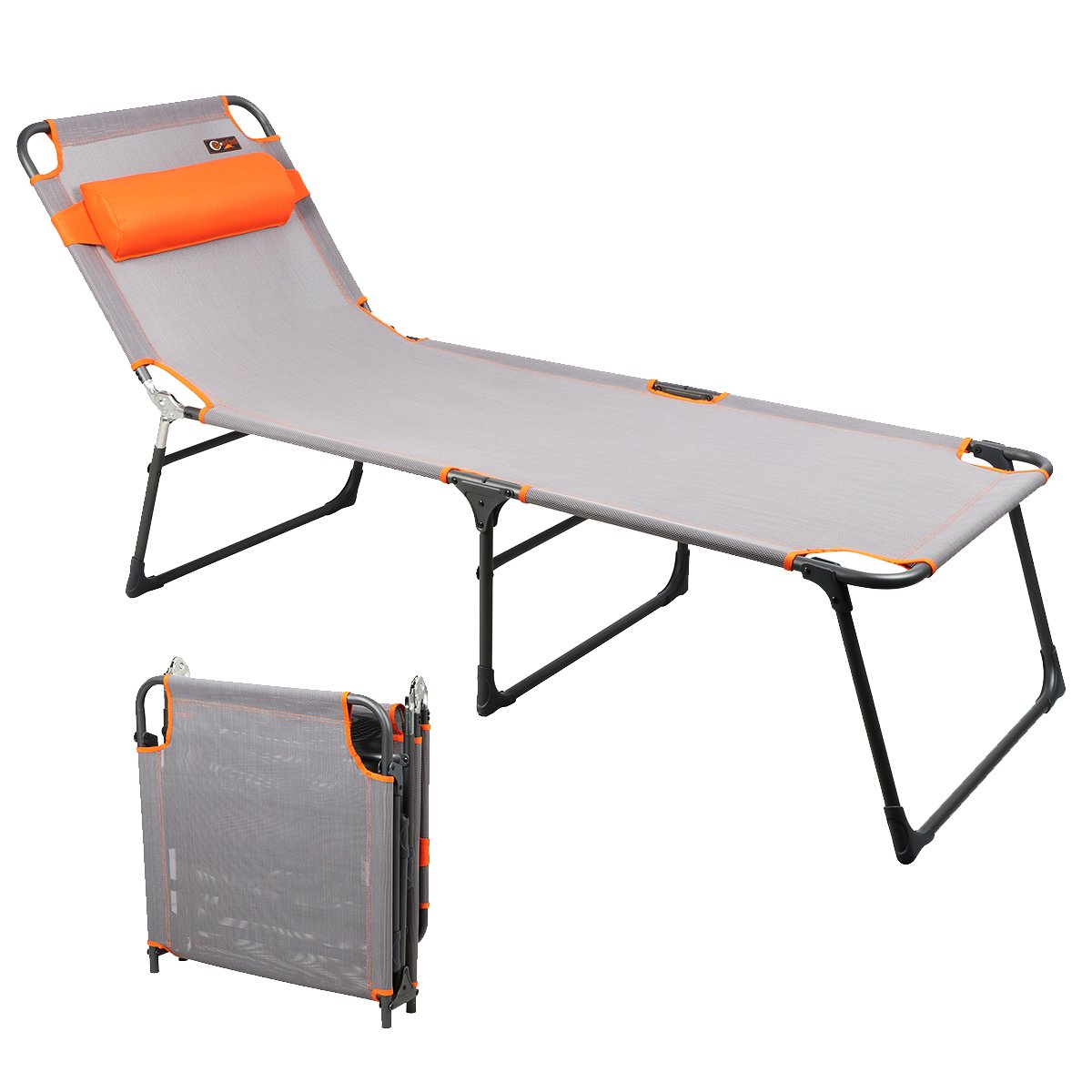 PORTAL Adjustable Folding Reclining Lounger