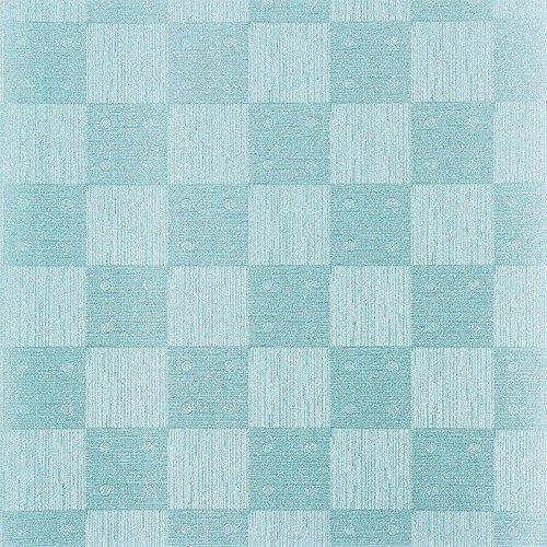 Design Faltpapiere, Karo-Design, quadratisch, 10 x 10 cm, 100 Blatt | Papier für verschiedene Falttechniken, Origami, Fleurogami, Bastelpapier | Origami-Papier (mint)