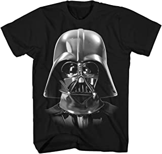 Darth Vader Costume Face Death Star Funny Humor Pun Adult Men's Graphic Tee T-Shirt Apparel