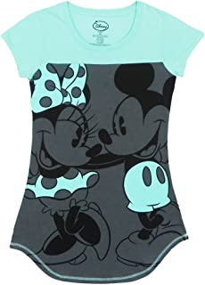 Disney Ladies Mickey & Minnie 2 Nice Dorm T-Shirt