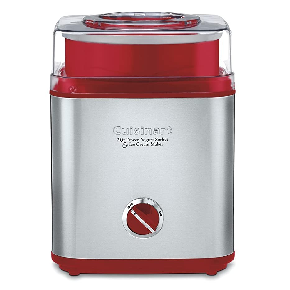 刺すうそつき理解Cuisinart クイジナートアイスクリームメーカー ICE-30R(Metal Red) [並行輸入品]