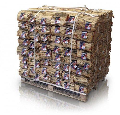 Anfeuerholz im 5,0 dm³ Netz 96 Stk. - eignet sich ideal zum Anfeuern von Holzbriketts oder Brennholz in Ihrem Kamin oder Ofen.