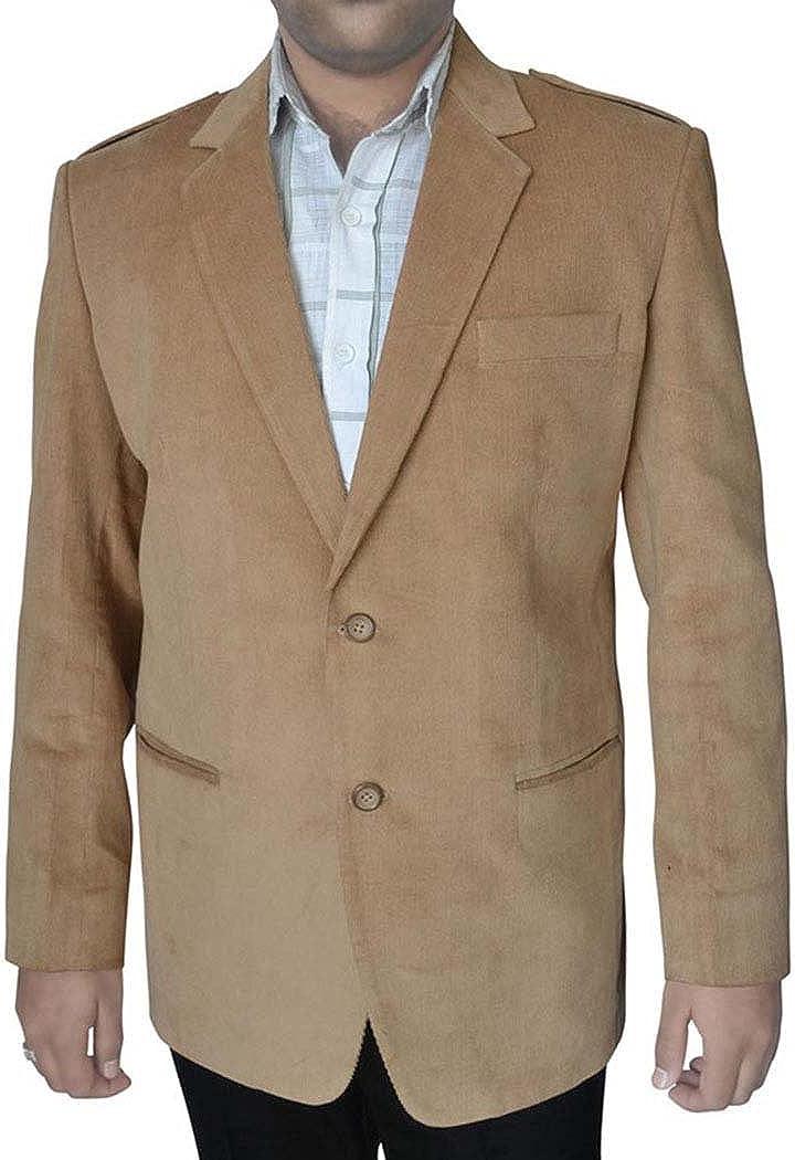 INMONARCH Mens Slim fit Casual Tan Jacket Corduroy Online limited product Blazer online shop Sport