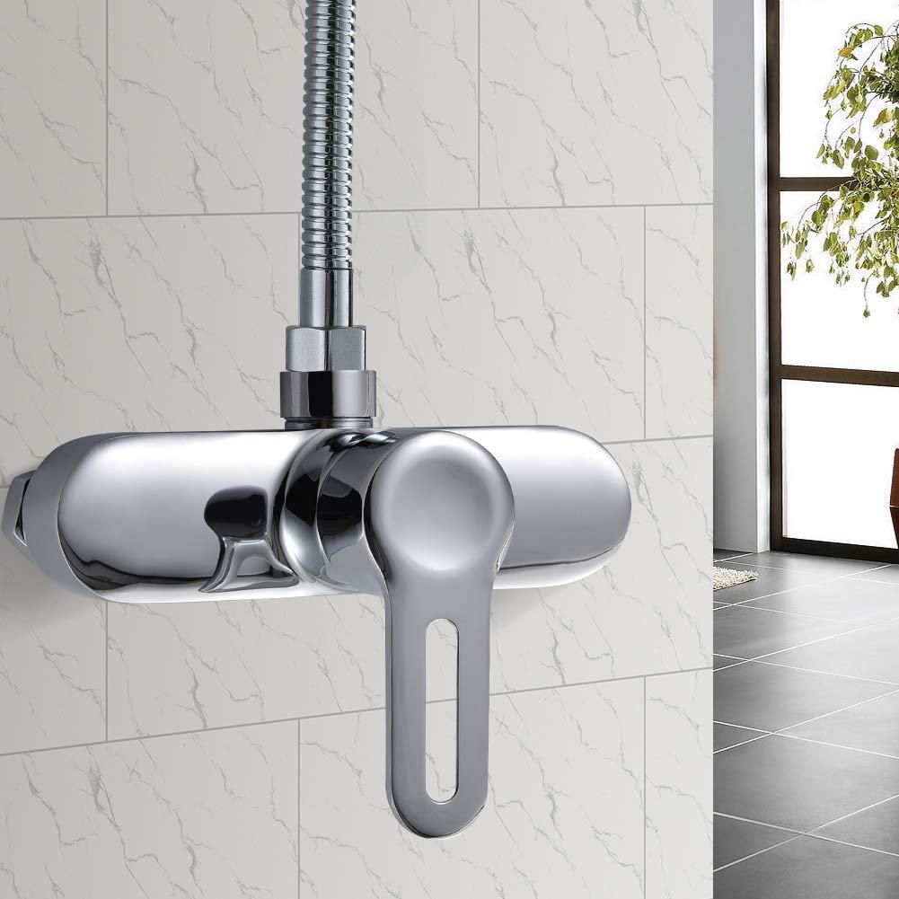 kisimixer Grifo de Ducha Monomando Grifo para ducha con accesorios ...
