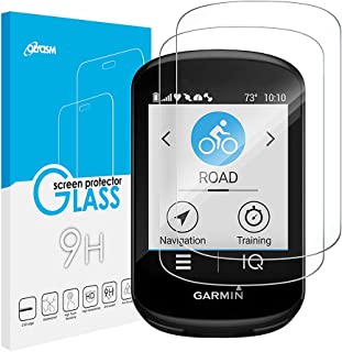 Olycism Compatibel met Garmin Edge 830 displaybeschermfolie (2-pack) ultradunne High Definition Premium gehard glas