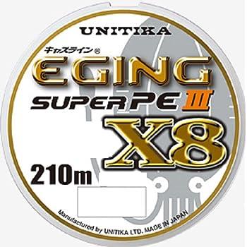 ユニチカ(UNITIKA) PEライン キャスライン エギングスーパーPEIII X8 210m 8本 3色分け
