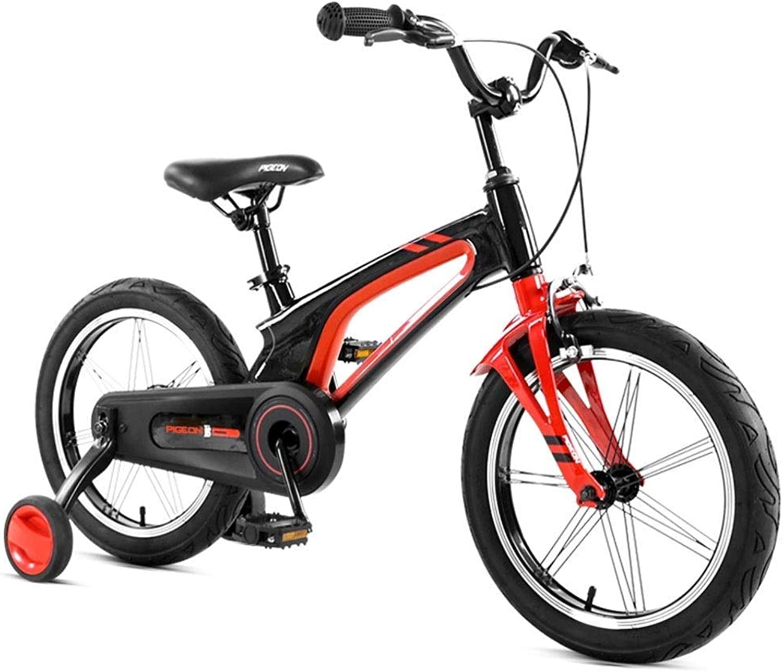 entrega rápida LJFYMX Bicicleta Bicicleta de de de Montaña para Niños, Bicicleta de Montaña, magnesio, Color Negro, 16   Pedal de Bicicleta ( Color   negro , Talla   A )  venta de ofertas