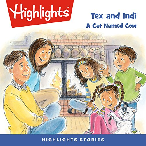 Tex and Indi: A Cat Named Cow copertina